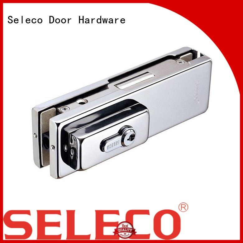 SELECO bulk production sliding glass door fittings free sample with clamp