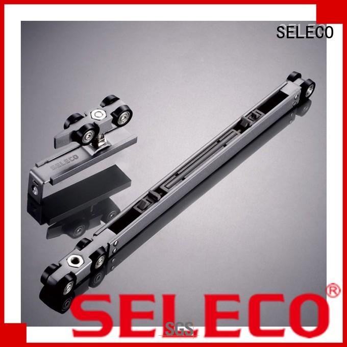 SELECO custom sliding door tracks and rollers glass sliding with rollers