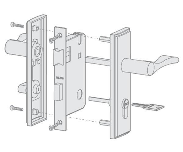 professional stainless steel door locks custom free sample door fabrication
