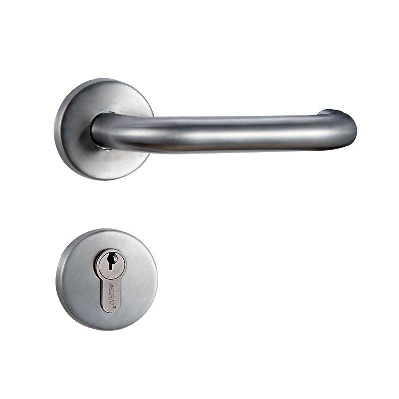 Stainless Steel Fire-proof Door Lock with Hollow Lever Handle SM-7200ET-30SS