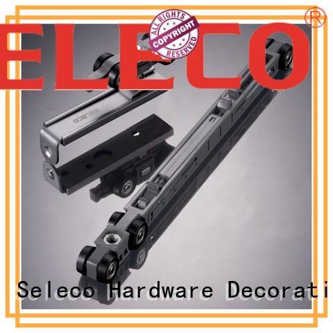 SELECO Brand soft sliding door tracks and wheels max supplier