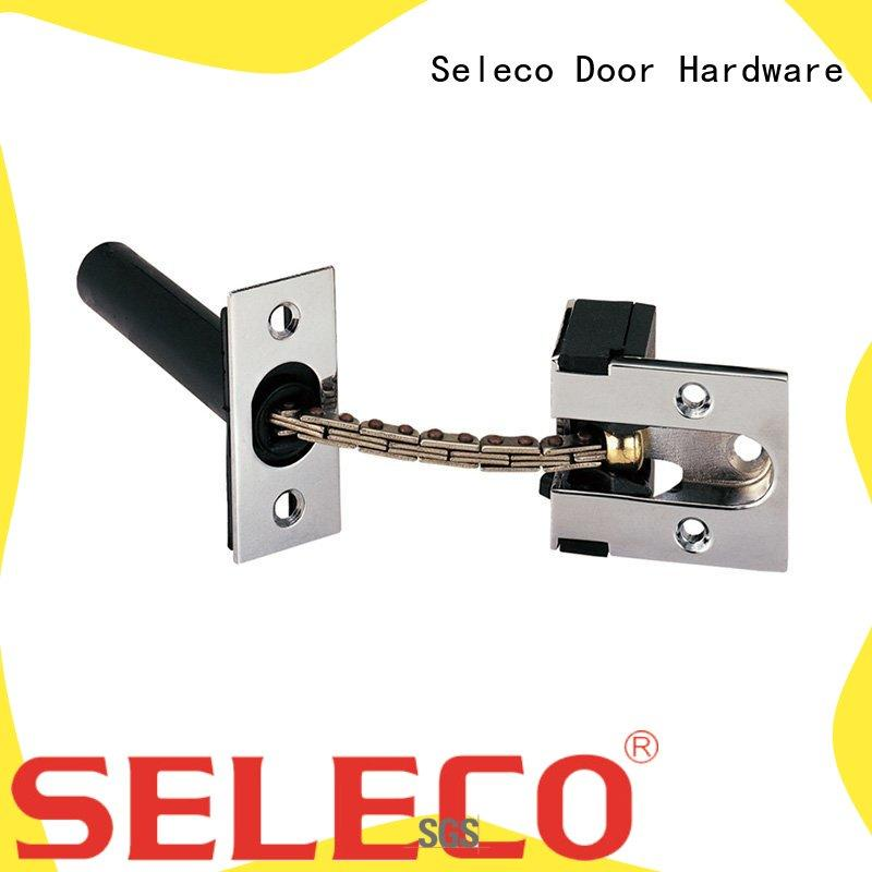SELECO door safety chain fastener button for wholesale