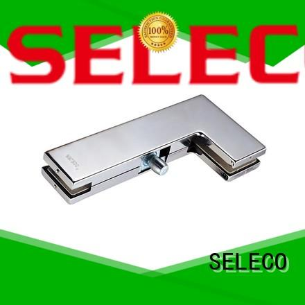 SELECO custom glass door fittings highly-rated with clamp
