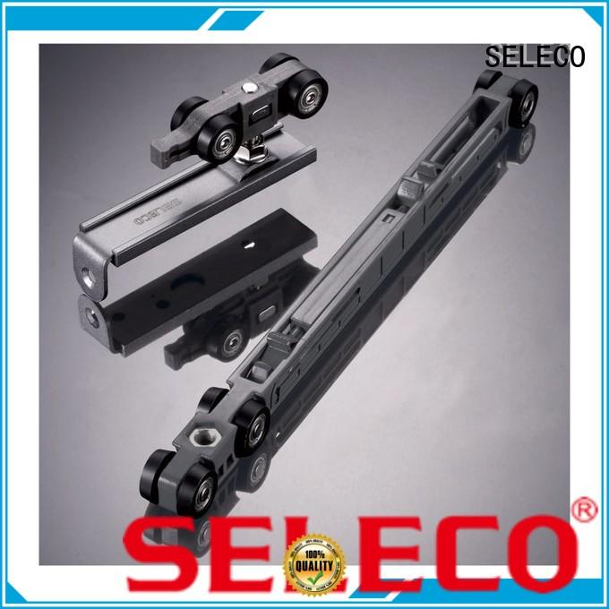single rolling door hardware with rollers SELECO