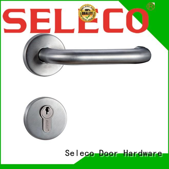SELECO Brand escutcheon stainless cylinder stainless steel door locks manufacture