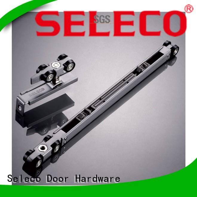 SELECO double direction sliding door tracks and rollers glass sliding easy installation