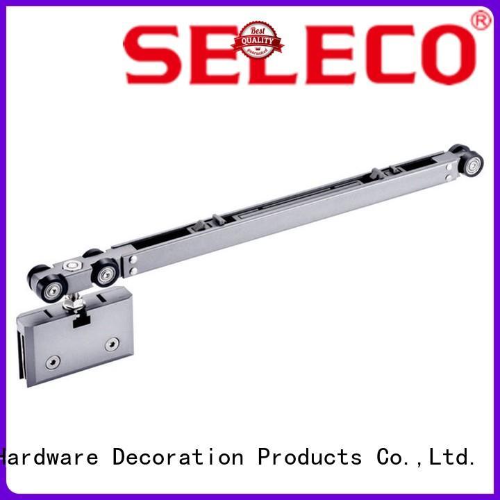 door sliding hardware SELECO Brand sliding door tracks and wheels manufacture