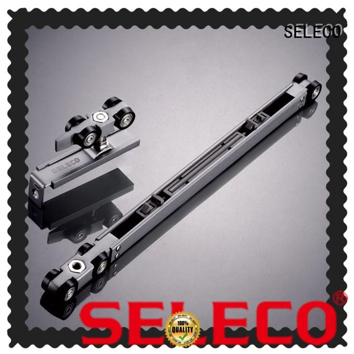SELECO soft close door hardware soft closing with rollers