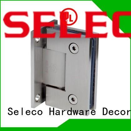 glass shower door hinges hardware glass steel stainless Warranty SELECO