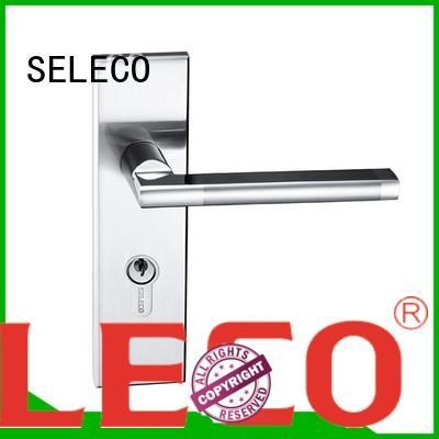 SELECO retro style door lock hardware bathroom door for wholesale