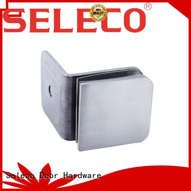 SELECO custom shower door clamps 180 degree free sample