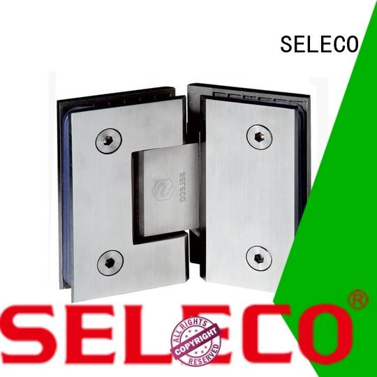 SELECO hot-sale shower hinges glass hardware door accessory