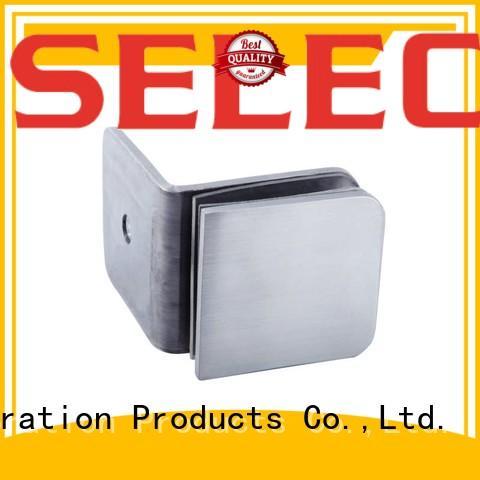 custom glass door clamp quick- installation free sample SELECO