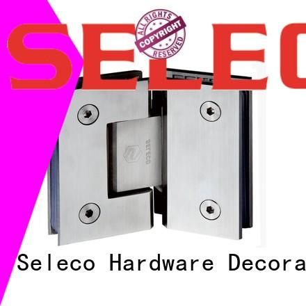 SELECO professional glass to glass shower door hinges at discount