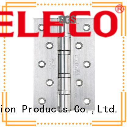 SELECO round angle stainless steel door hinges hot-sale at discount