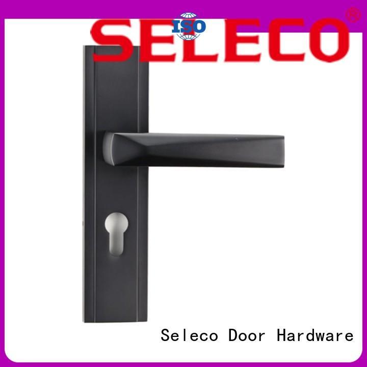 SELECO simple design metal door lock hotel door