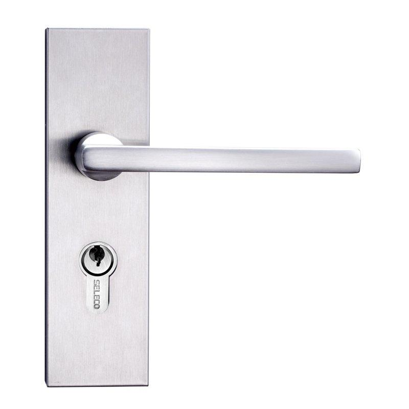 professional stainless steel door locks custom free sample door fabrication-1