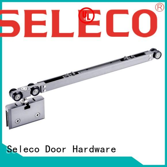 SELECO soft close sliding door hardware buffering with rollers