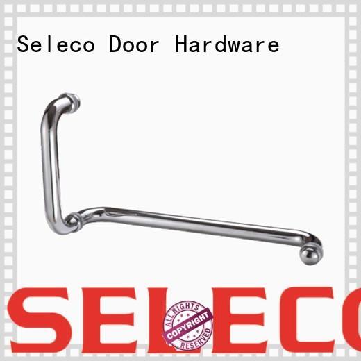 SELECO shower glass handle easy-installation for door factory