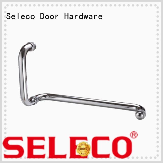 SELECO poplar shower glass handle with PVC gasket