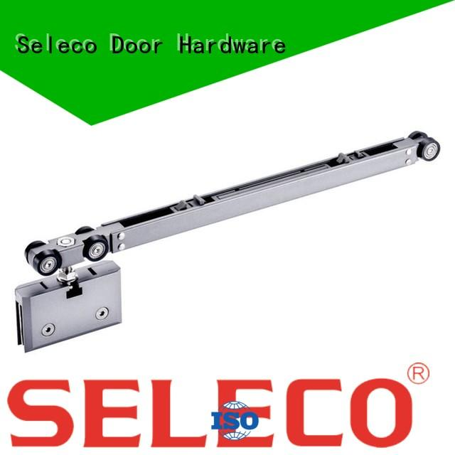 SELECO hot-sale barn door soft close hardware with hanger