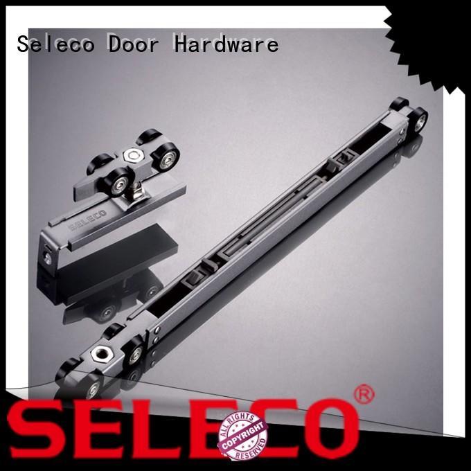 SELECO double direction rolling door hardware buffering with hanger
