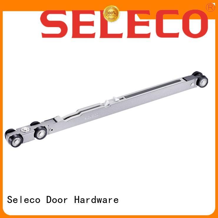 single sliding barn door soft close single easy installation SELECO