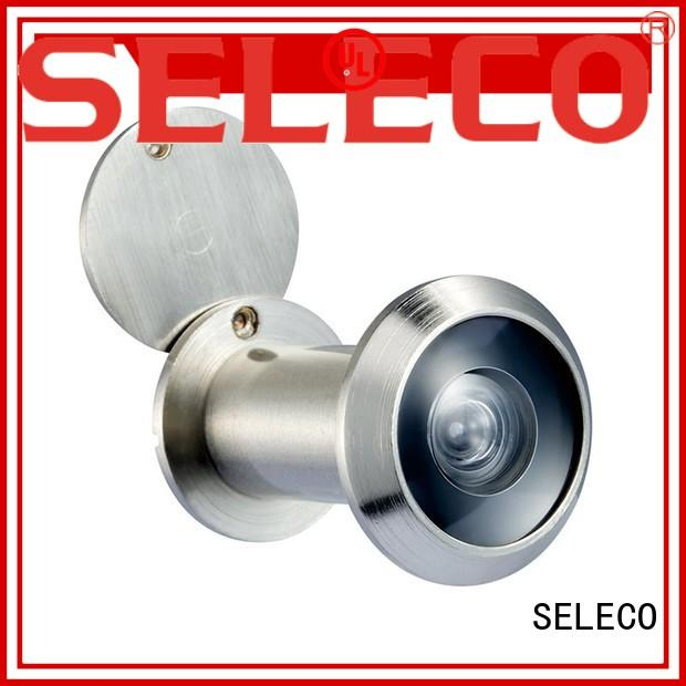 zinc alloy wide angle door viewer easy-installation at discount