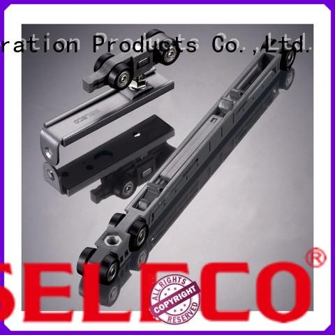 SELECO wholesale sliding door tracks and rollers buffering with rollers