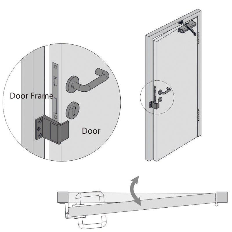 zinc alloy front door security chain cheapest factory price at discount SELECO