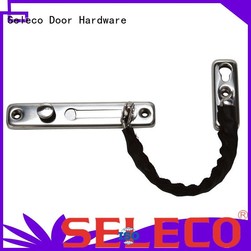 SELECO zinc alloy door safety chain cheapest factory price for wholesale