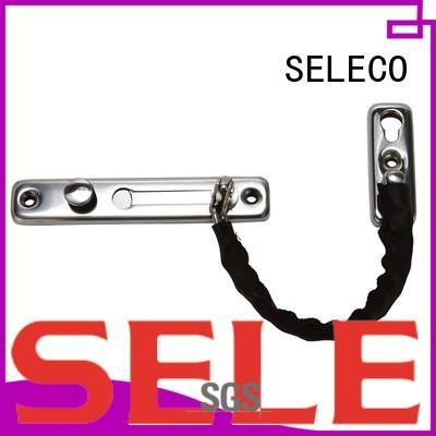 SELECO door limiter front door chain guard fastener button at discount