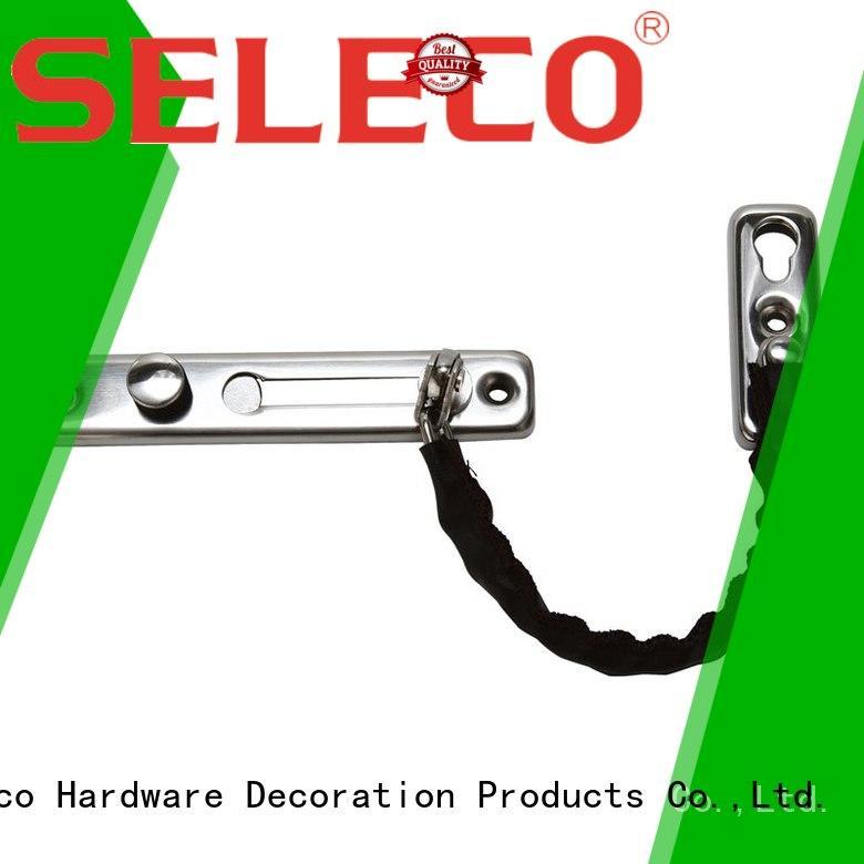 button security door SELECO Brand front door chain manufacture