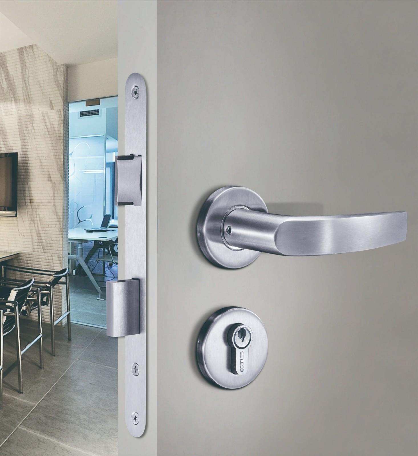 high-quality metal door lock custom fire-proof for door factory-3