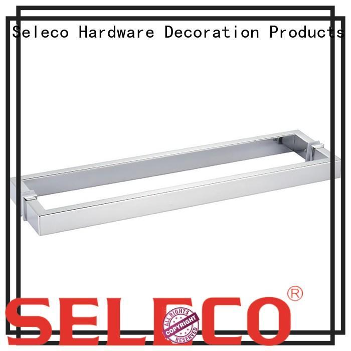glass shower door handles custom easy-installation door material