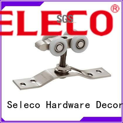 low-cost hanging sliding door rollers full set for wholesale SELECO