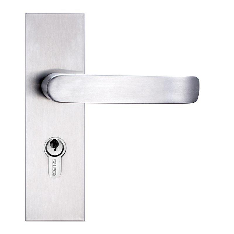 Full Set Door Lock with Lock cylinder and Handle SM-502503ET-50E-SS