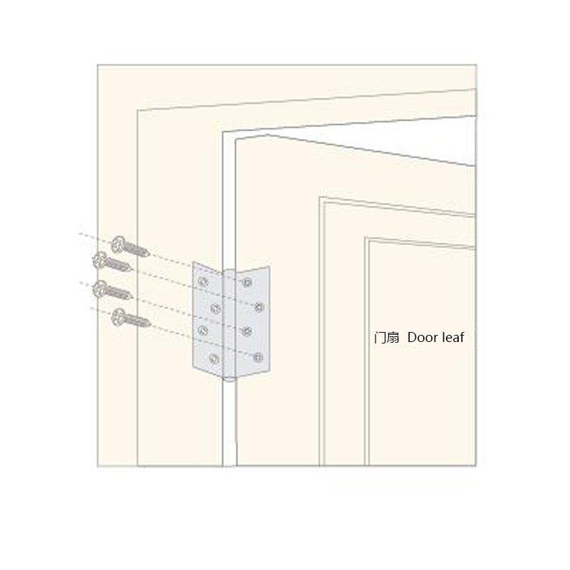 SELECO round angle stainless steel door hinges hot-sale from brass-10