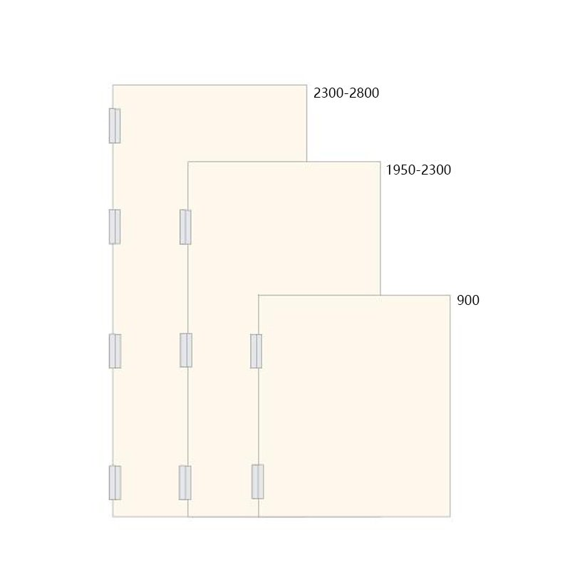 SELECO round angle stainless steel door hinges hot-sale from brass-11