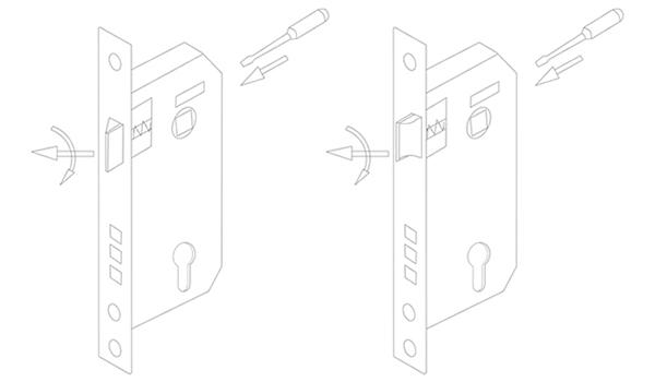 SELECO custom metal door lock light-weight for door factory-11