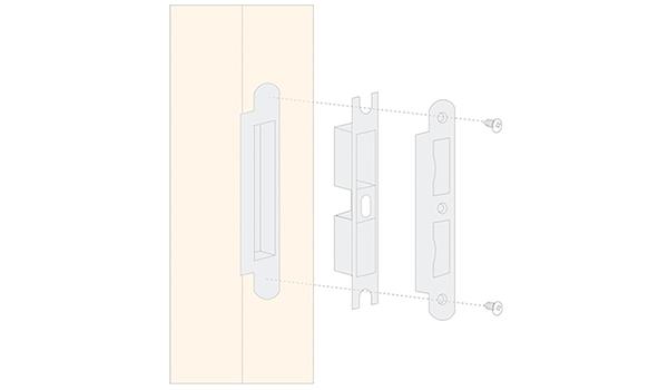 SELECO custom metal door lock light-weight for door factory-12