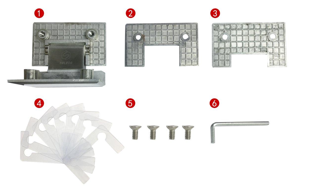 professional glass to glass shower door hinges chic design bathroom door-6