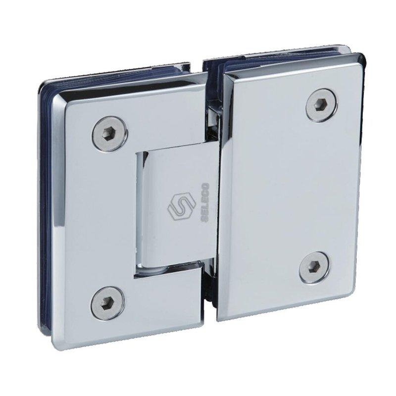 180 Degree glass connect glass bathroom hinge SI-B303