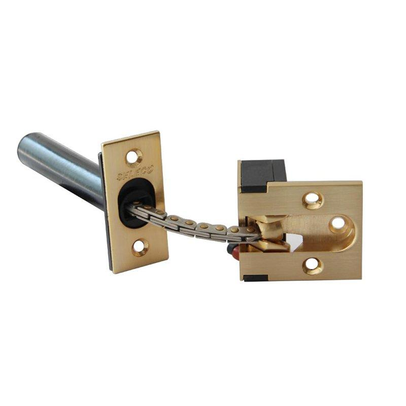 Anti-theft Door Security Chain Fastener Button SL-030