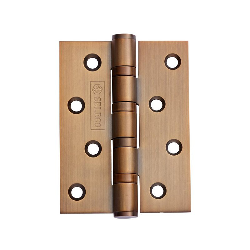SELECO round angle stainless steel door hinges hot-sale from brass-4