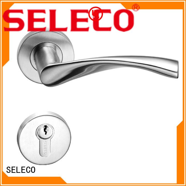 SELECO professional steel door lock light-weight door fabrication