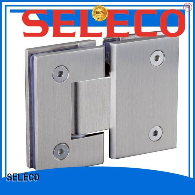 SELECO wholesale glass to glass shower door hinges chic design
