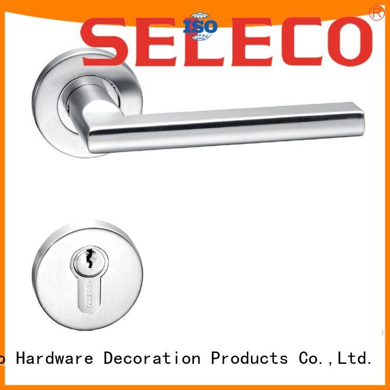 full cylinder OEM stainless steel door locks SELECO