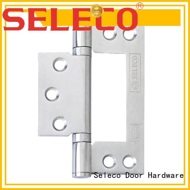 SELECO round angle brass butt hinges top manufacturer for wholesale