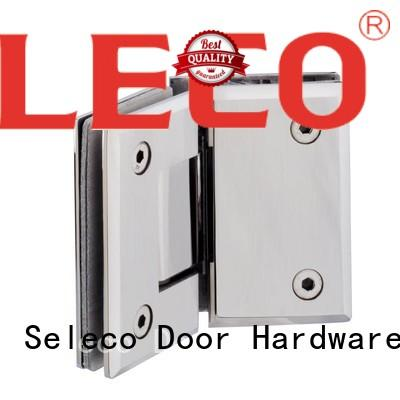 SELECO 135 degree glass to glass shower door hinges light-weight